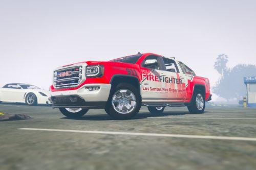 Los Santos Vol. Fire Skin