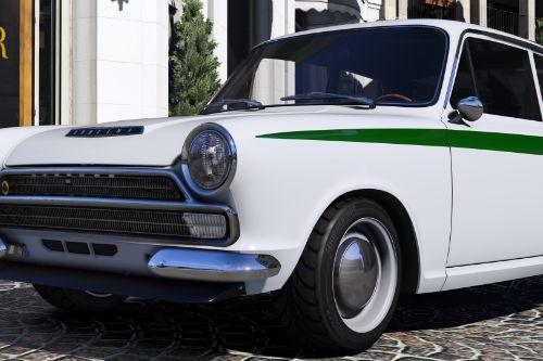 Lotus Cortina Mk1 [Add-On | Replace]