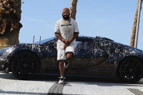 Louis Vuitton T-Shirt-Shorts / Franklin