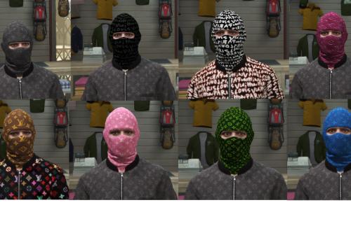 Louis Vuitton Ski Mask Pack