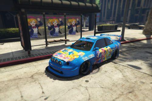 痛車Love Live! µ's - Sultan RS Livery 王者RS