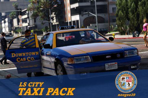 LS City Taxi Pack [Add-on | Replace]