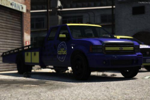 LS Customs Vapid Sadler Ramp Truck Livery