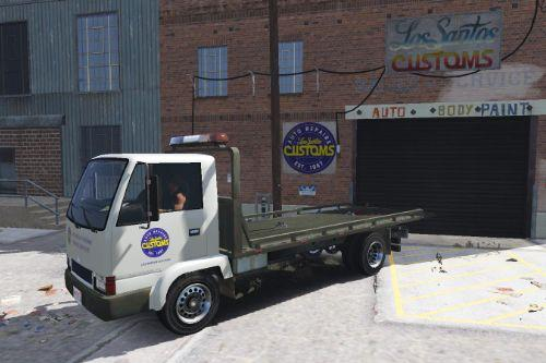 LSC - Towing Services Livery For Maibatsu Mule Recovery