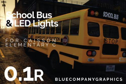 LSDOE Livery & LED Lights - Caisson School Bus