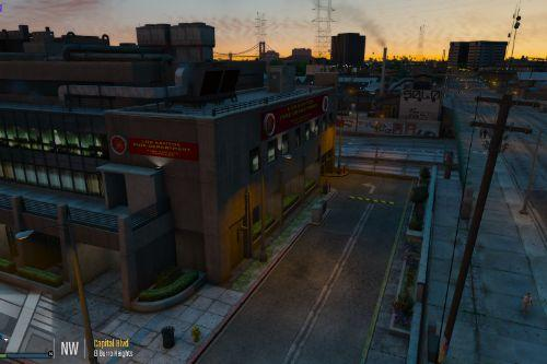 LSFD Headquarters Building Remod [Fivem] [SP]