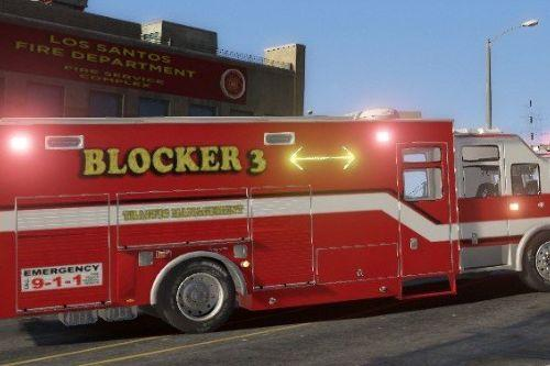 LSFD Seagrave Traffic Management Blocker [ELS]