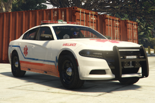Ambulance Dodge Charger | Livery