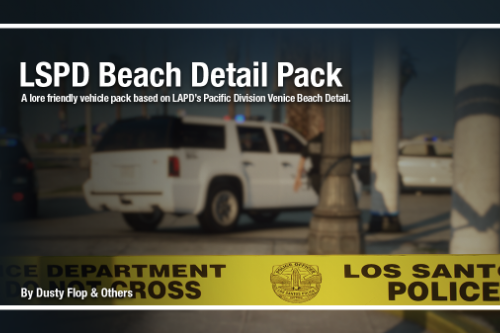 LSPD Beach Detail Pack [Add-on]
