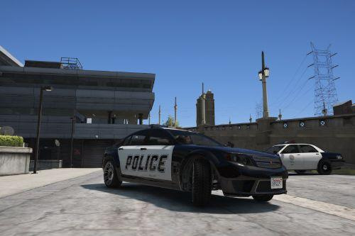 LSPD Cheval Fugitive PaintJob