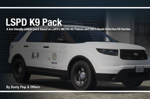 LSPD K9 Pack [Add-On]