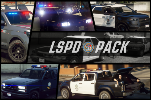LSPD Pack  [Add-On + Replace]