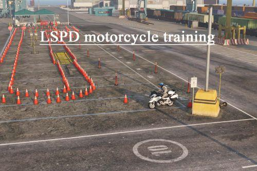 LSPD motorcycle training [ XML | YMAP | FIVEM ]