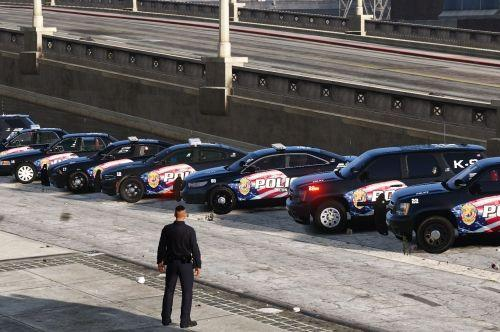 LSPD Patriot Livery Pack 1 (OIV avail.) 1.0.0
