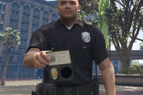 LSPD Police Badge [SP Replace/FiveM]