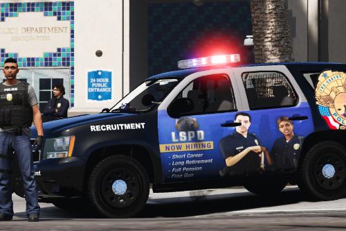 "LSPD ""Recruiter"" 2013 Tahoe"