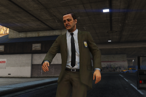 LSPD retexture for Old School LAPD Detectives