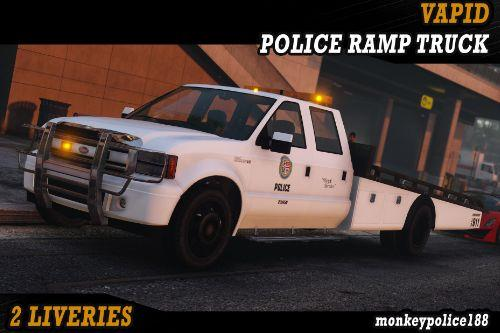 LSPD Sadler Police Ramp Truck [Add-On | Liveries | Template]