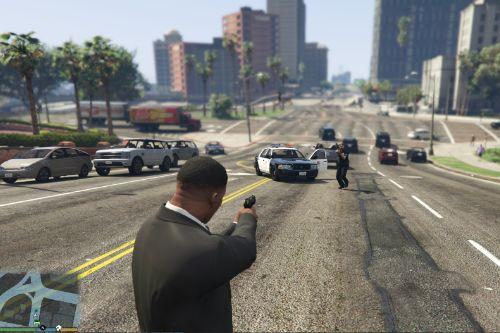 LSPD Staniers & Buffaloes In Pursuit