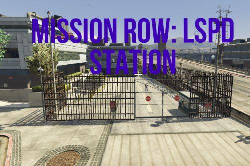 LSPD Police Station Mission Row [YMAP / FiveM]