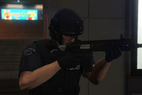 LSPD SWAT Ped Model