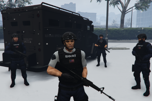 "LSPD SWAT Textures for Yard1's ""LSSD SEB Ped Model"""