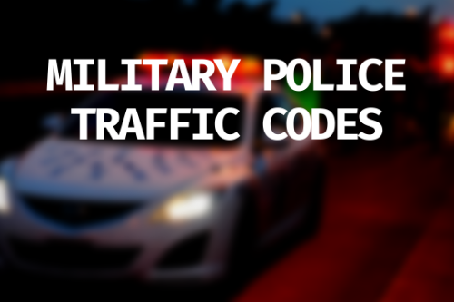 LSPDFR+ Military Police Traffic Offense