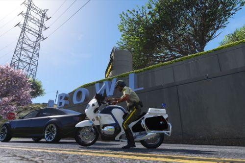 LSSD BMW Police Bike Retexture