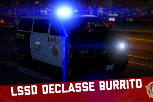 LSSD Declasse Burrito [Add-On | Liveries]
