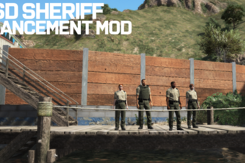 LSSD Sheriff Ped Enhancement