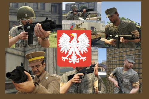 Ludowe Wojsko Polskie PRL LWP Polish People's Army Polska Poland Polski