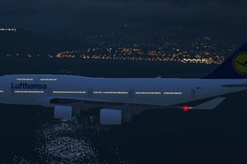 Lufthansa 747 for B747 Jet