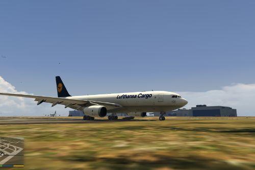 Lufthansa a330 Cargo Livery