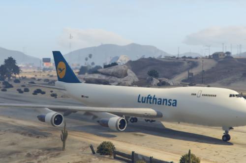 Lufthansa Boeing 747-200 Freighter [PAINTJOB]