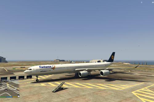 Lufthansa Fanhansa A340-600 Livery