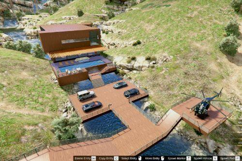 Luxury Wooden Villa (Garage / Helipad / Pool)
