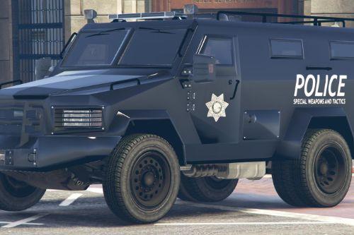 LVPD SWAT Lenco Bearcat Las Venturas Police Department Truck Livery (4K)