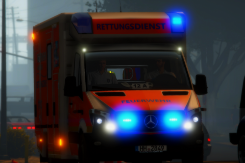 M.B. Sprinter Facelift Fahrtec Feuerwehr Hamburg