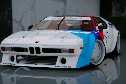 BMW M1 ProCar E26 1981 [Add-On]