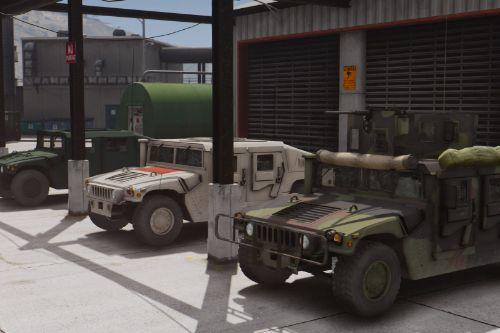 Ground Military Vehicles Pack [Add-On]