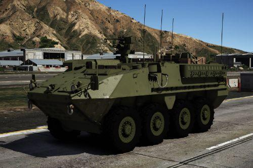 M1126 Stryker ICV [Add-On | Tuning | LODs]