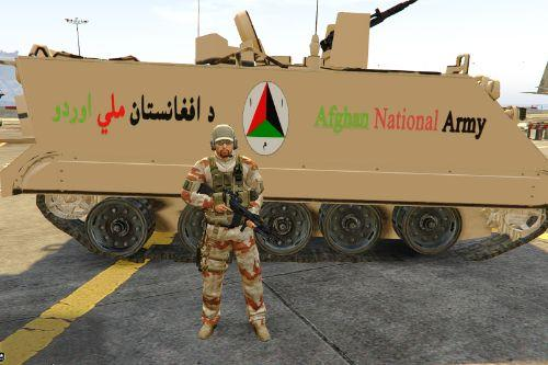 M113 APC Afghan National Army Version
