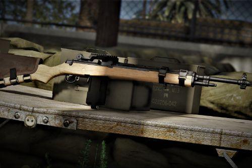 M14 Classic Wood (Skin)