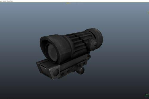 B339de black scope