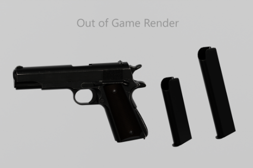 M1911A1 Animated From EFT [Singleplayer & Fivem]