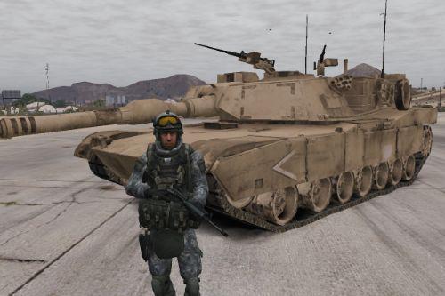 M1A1 Abrams (Retexture)