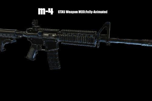 M4 Carbine [Animated]