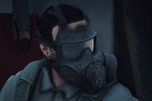 M53 Gas Mask [Flip Up & Down] [EUP]