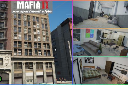 ✪ Mafia 2 Joe apartment style ✪
