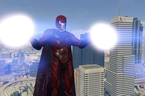 Magneto (MCU) Red and Purple Retexture